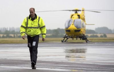 武漢肺炎》英國醫療人力不足 威廉王子有意重返空中救護隊