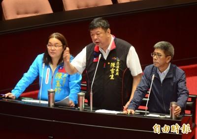 遭蘇揆重批沒資格當國會議員 陳玉珍回嗆:快修憲改台灣國