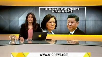 不甩威脅!印度媒體讚揚台灣 砲轟中國讓世界面臨風險