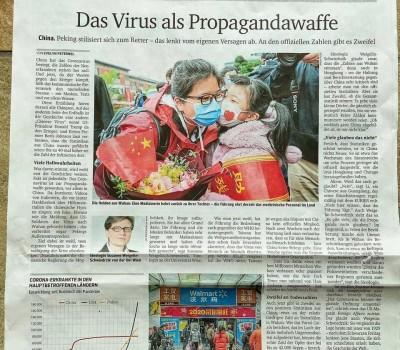 「台灣早已警告世衛」 奧地利大報轟中國把病毒當武器