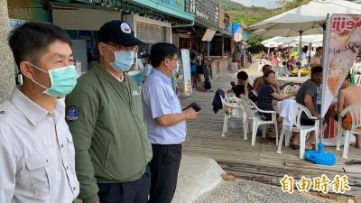 武漢肺炎》徐國勇墾丁視察錄音宣導  驚訝外國遊客大多不戴口罩