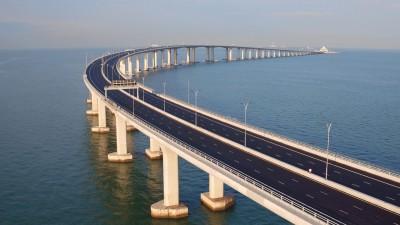 武漢肺炎》現在才要封!港珠澳大橋明起實施「限時通關管制」