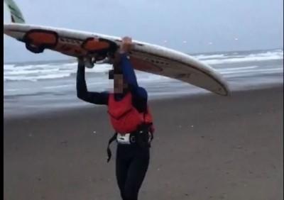 竹南海域風箏衝浪 1人失聯3小時 10公里外尋獲