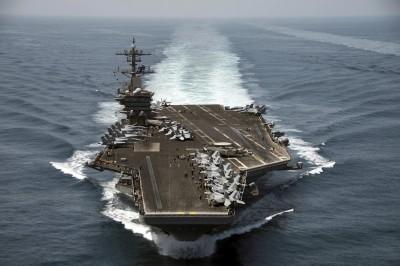拔官航艦艦長惹議 美海軍部長:不能示弱讓對手誤判
