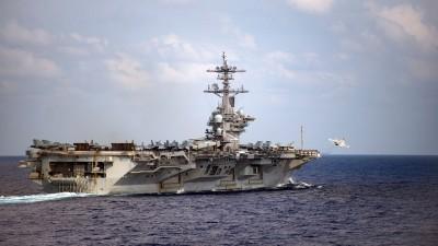 美航艦「羅斯福號」染疫  前太平洋艦隊司令:仍有強大威懾力
