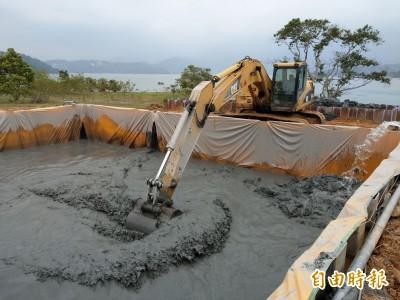 亞洲第2座「渾水發電」!日月潭清淤 台電將首設沉管輸泥