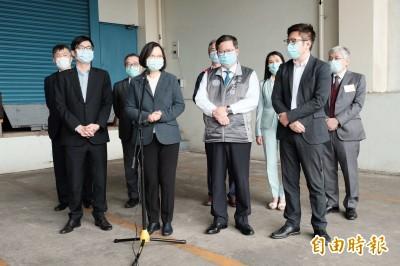 口罩國內不夠用還援外? 蔡總統:行有餘力提供協助