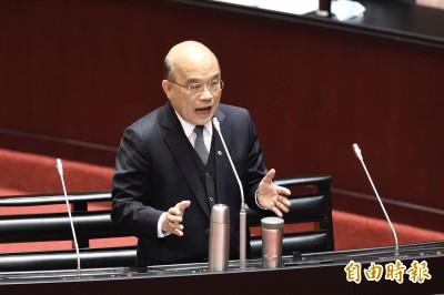 陳玉珍重提「台灣不是國家」 蘇揆當面嗆:在北京敢講中華民國嗎?