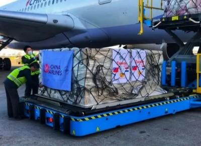 已印國旗 華航:運送物資不會再掛華航旗幟引起誤會
