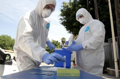 武漢肺炎》美國逾9千醫護染疫 女性高達73%