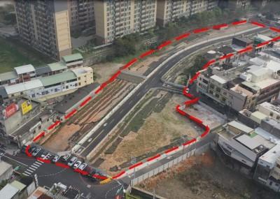 竹市公道三拆遷戶安置基地完工、另新闢8米寬道路