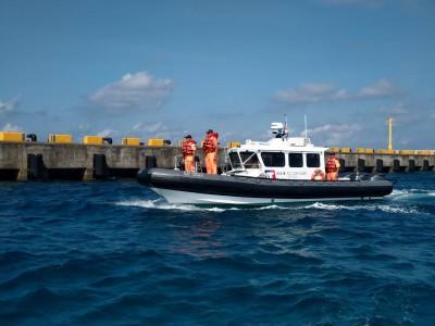 海巡署CP-1023多功能艇 進駐南沙太平島