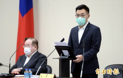 參加國際民主聯盟研討會 江啟臣尋求支持台灣參與WHO