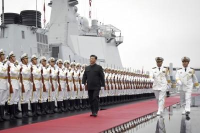 中國趁隙耀武揚威  外媒:施壓台灣並以疫謀南海