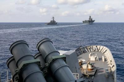 軍情動態》嚇阻中國 美澳海軍在南海聯合演習