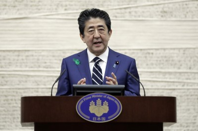防堵日本黃金週擴大疫情 安倍籲「線上返鄉」