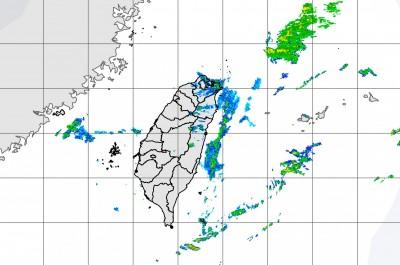 東北季風+華南雲雨區 基隆北海岸大雨特報