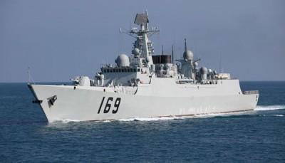 澳前國防部官員爆料 中國「武漢號」驅逐艦現身馬國沿海