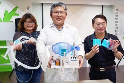 大葉大學校友趙士慶開發緊急呼吸器 無償分享設計圖