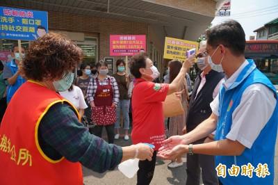 五一連假竹縣4老街商圈、2遊樂園啟動人流、車流控管防疫措施