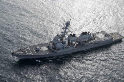 軍情動態》充實戰力  美國海軍接收新伯克級驅逐艦