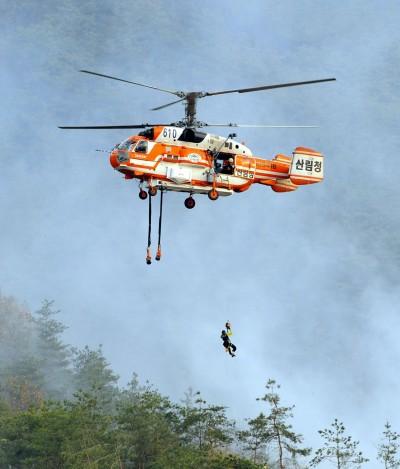 南韓驚傳消防直升機墜機   機上7人生死未卜