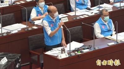 高市議員促裁示出借校園當投票所 韓國瑜:當事人不適合回應