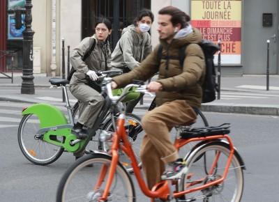 武漢肺炎》法下週解除封鎖令  巴黎交通主幹道規劃給自行車