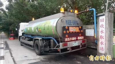 枯水期不用民生用水 台南洗街全面利用回收水