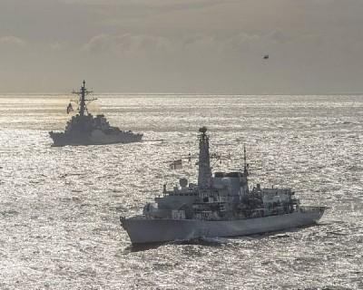 軍情動態》美水面艦艇30年來首度在巴倫支海演訓 美官員稱警惕中國