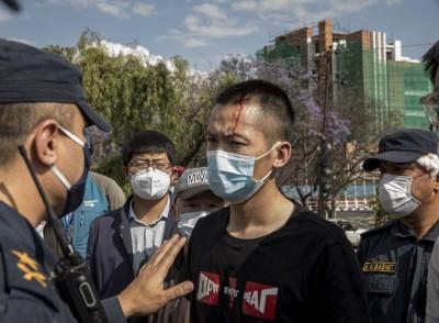 武漢肺炎》47中客滯留尼泊爾 求助使館無門上街抗議被捕