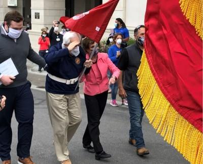 勇!99歲二戰海陸老兵擊退病毒:我經歷過的地獄不止一次