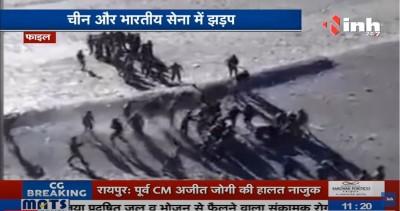 中印邊境爆發衝突......150士兵打群架11人掛彩