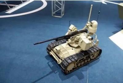 軍武新知》中國陸軍部署新無人載具 可載7.62mm班用機槍