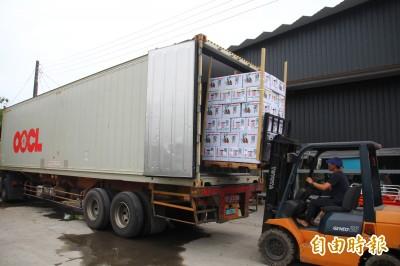 Produce of Taiwan! 疫情後首批13公噸烏殼綠竹筍外銷加拿大