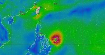 黃蜂颱風8級風恐威脅全台灣?最新模擬路徑圖曝光