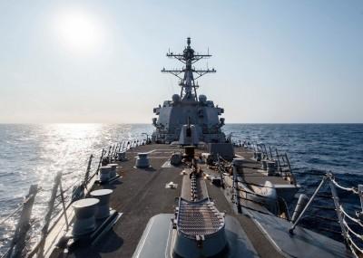 台海軍情》中國展開軍演之際 美國軍艦穿越台灣海峽