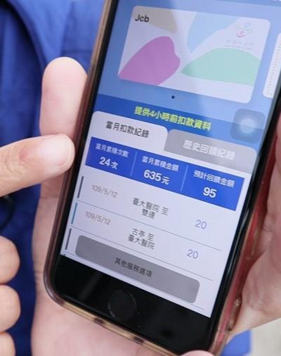 北捷App輕鬆綁定悠遊卡 隨時可查回饋金有多少