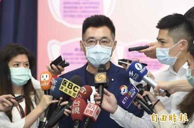 面對罷韓 江啟臣:全力配合高雄市長韓國瑜 力保韓國瑜