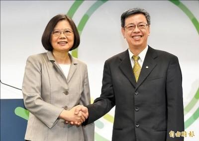 感謝「史上最忙副總統」 蔡英文讚陳建仁:台灣有你真好
