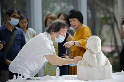 藏身百年 台灣首名雕刻家黃土水少女胸像修復重現