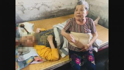感人婆媳情!照顧臥病在床媳婦12年 84歲阿嬤嘆:自己快不行了