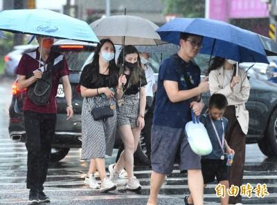梅雨鋒面將登場!週一留意午後雷陣雨 入夜北台灣變天