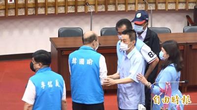 會煩惱罷韓投票嗎?許崑源:市長做那麼好還要煩惱?