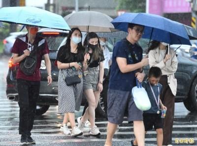 週四到週六全台嚴防豪大雨 專家:鋒面雨勢恐持續到月底