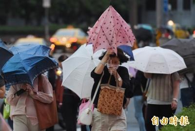 梅雨鋒面來了!週二全台有雨 不穩定天氣到週六