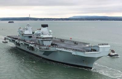 軍情動態》不僅伊莉沙白女王號! 英國威爾斯親王號航艦也漏水