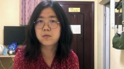 中國公民記者報導武漢肺炎遭拘留 親友將向美國會求援