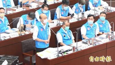 曾說天意+民意助選總統 韓國瑜被問罷免:尊重市民決定
