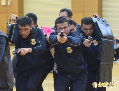 賴清德警衛室今晚編成  近60特勤人員護衛安全